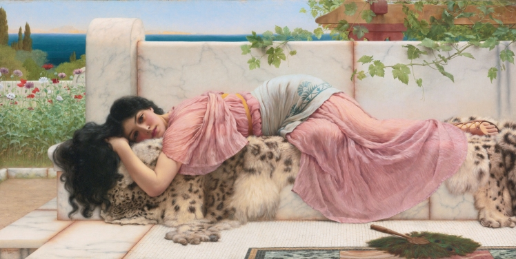 When the heart is young, by John William Godward